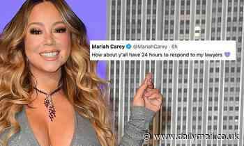 Mariah Carey tells rapperYTK to 'respond to my lawyers' after sampling her hit Shake It Off
