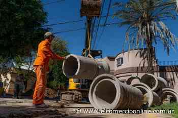 Avanza la obra hidráulica en Florida Oeste que beneficiará a más de 50 mil vecinos - elcomercioonline.com.ar