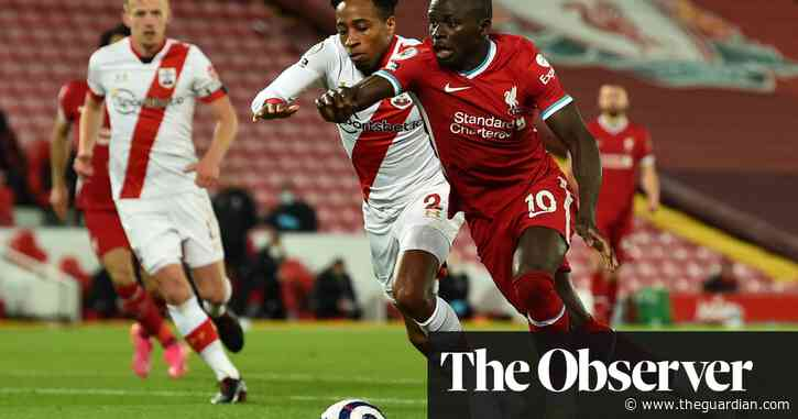 Mané and Thiago sink Southampton to keep Liverpool's top-four hopes alive