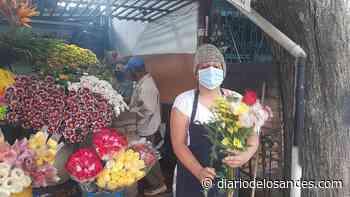 Floristas en San Cristóbal: 20 paquetes rosas duraban un día, ahora 10 paquetes alcanzan para la semana - Diario de Los Andes