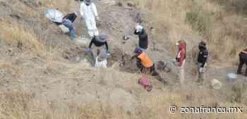 Rescatan siete cuerpos de fosas en comunidades de Celaya y Juventino Rosas - Zona Franca