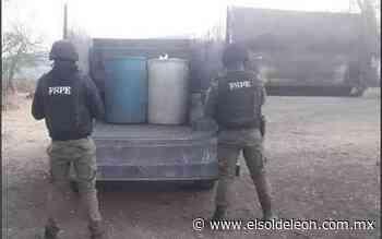 Aseguran dos camionetas con tambos de combustible en Juventino Rosas - El Sol de León