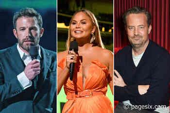 Chrissy Teigen calls out Ben Affleck, Matthew Perry's 'creepy' videos - Page Six