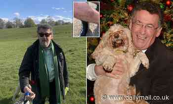 Cyclist claims 76-year-old Jesus of Nazareth actor's cockapoo bit him