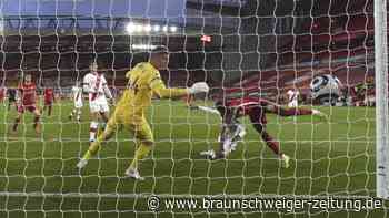 Premier League: FC Liverpool nach Sieg gegen Southampton vorerst Sechster