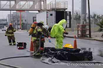Se derraman más de 200 litros de ácido clorhídrico en Monterrey - Regeneracion