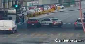 Imprudencia de Guardia Civil ocasiona choque en Centro de Monterrey; hay varios lesionados - El Horizonte
