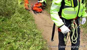 FORLI': Escursionista ferito recuperato dal Soccorso Alpino   FOTO - Teleromagna24