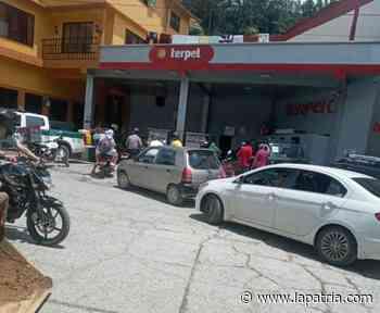 Pácora se abastece de gasolina y ACPM - La Patria.com