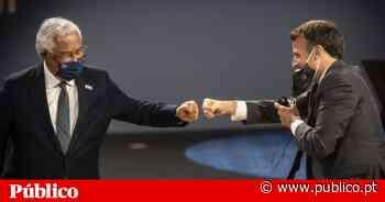 """""""Fist bumps"""", sorrisos com máscaras e segurança: a cimeira do Porto em 22 imagens - PÚBLICO"""