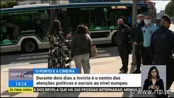 Cimeira. Porto com várias ruas cortadas ao transito e limitações de circulação - RTP