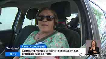 Cimeira do Porto agrava engarrafamentos de trânsito - RTP