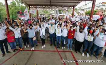 Avanza Villacaña al triunfo; recibe respaldo de Guadalupe Victoria - www.nssoaxaca.com