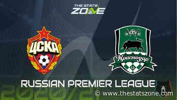 2020-21 Russian Premier League – CSKA Moscow vs Krasnodar Preview & Prediction - The Stats Zone