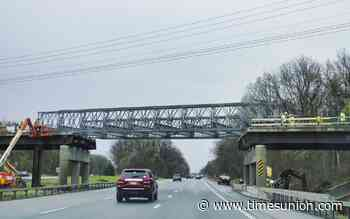 Sitterly Road Bridge reopens with temporary span