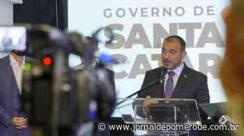 Carlos Moisés reassume governo de SC e anuncia retorno de secretários - Jornal de Pomerode