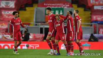 Liverpool beat Saints in quest for top-four spot
