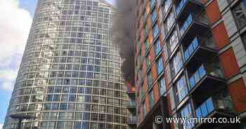 Cladding crisis worsens as another block of flats burns like Grenfell