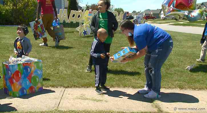 4-year-old returns home from chemotherapy in time for birthday