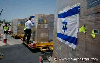 Israel sends 2nd planeload of medical aid to virus-wracked India - The Times of Israel