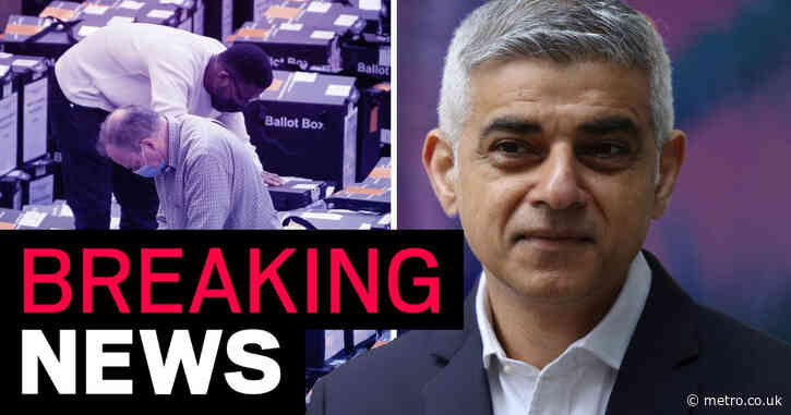Sadiq Khan re-elected as London Mayor after beating Tory rival Shaun Bailey