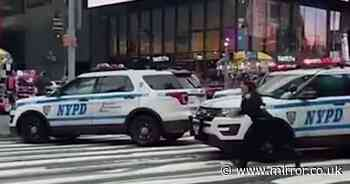 Girl, 3, and woman shot in New York's busy Times Square with gunman on loose