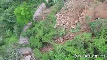 VIDEO: Los daños en vía a San Vicente de Chucurí - Caracol Radio