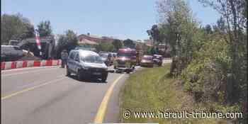 PEZENAS – Un grave accident de la circulation fait plusieurs blessés - Hérault-Tribune