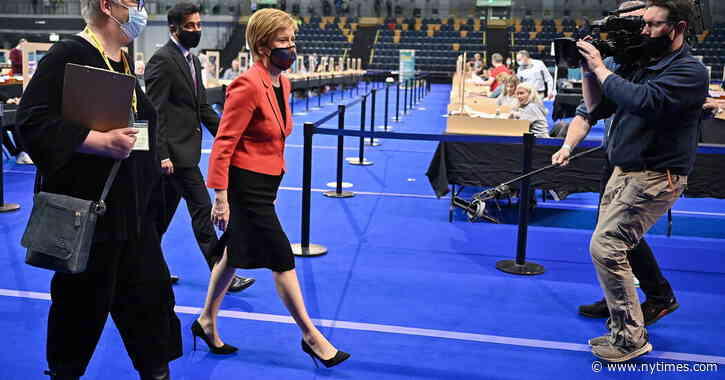 Scotland Election Results Complicate Hopes for Independence Referendum - The New York Times