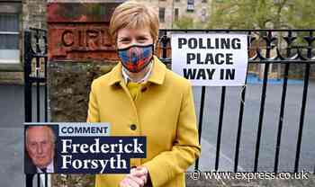 Scotland warning: Sturgeon Salmond et al are in it for themselves FREDERICK FORSYTH - Daily Express