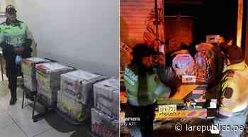 Moquegua: Policía interviene camión con 215 kilos de droga en Ilo - LaRepública.pe