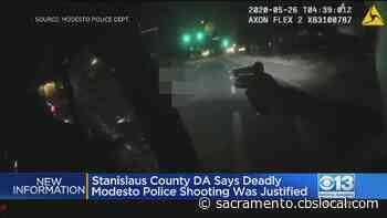 DA Rules Fatal Shooting Of Reymar Gagarin By Modesto Police Was Justified - CBS Sacramento