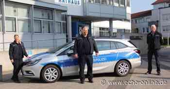 Als Quereinsteigerin bei der Stadtpolizei in Riedstadt - Echo Online