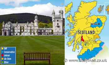 Victory in Aberdeen West where the Royals holiday at Balmoral stops SNP majority