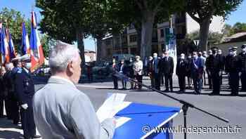 Une deuxième commémoration du 8 mai 1945 sans public à Limoux - L'Indépendant