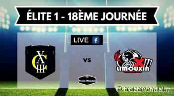 Elite 1 - 18ème journée : Carcassonne XIII vs Limoux en direct vidéo - Treize Mondial