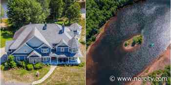 Mont-Tremblant House For Sale Comes With Its Own Private Lake & A Massive Backyard - Narcity