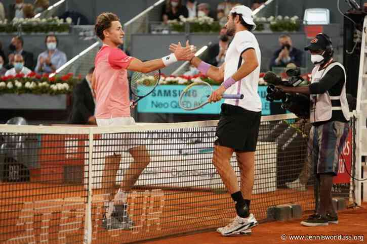 ATP Madrid: Matteo Berrettini overpowers Casper Ruud for first Masters 1000 final