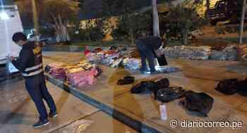 Incautan mercancía ilegal por S/ 150,000 en la vía Tacna-Tarata - Diario Correo