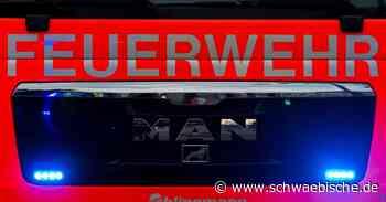 Mann stirbt bei Wohnungsbrand in Seeon-Seebruck - Schwäbische