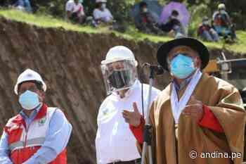 MTC supervisa trabajos en la vía evitamiento Abancay - Agencia Andina