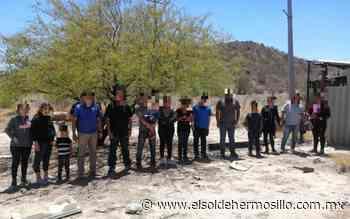 Inmigrantes abandonados en Sonora son apoyados por policías - El Sol de Hermosillo