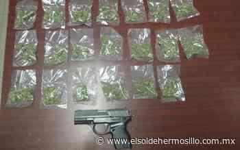 Autoridades detienen a un hombre con droga en la Costa de Hermosillo - El Sol de Hermosillo