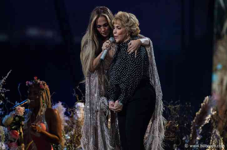 Jennifer Lopez Brings Her Mom to the Stage at 'Vax Live' Concert