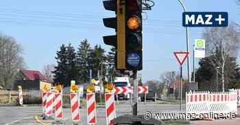 Marwitz: Bürgermeister Leys informiert zum aktuellen Stand der Kreisel-Bauarbeiten - Märkische Allgemeine Zeitung