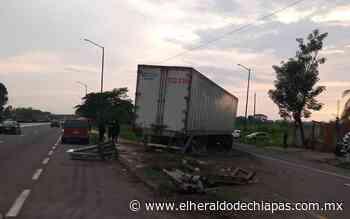 Zona cañera es un peligro para automovilistas en Huixtla - El Heraldo de Chiapas