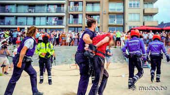 Politie rukt uit voor vechtpartij op het strand van Blankenberge in Helden van Hier: De Kust - MUDOO