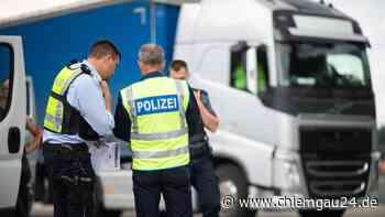 Siegsdorf/A8: Lkw-Fahrer mit fremder Fahrerkarte unterwegs - Anzeige folgt - chiemgau24.de