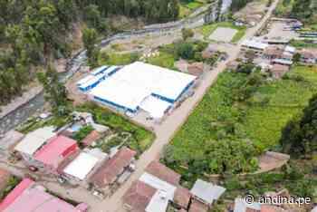Reconstrucción: inauguran hospital de contingencia en provincia ancashina de Pomabamba - Agencia Andina