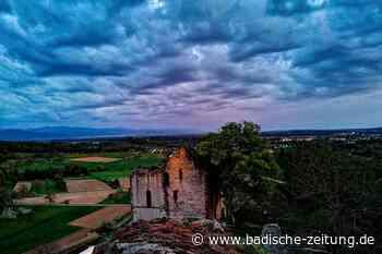 Die Ruine Landeck ist richtig filmreif - Teningen - Badische Zeitung